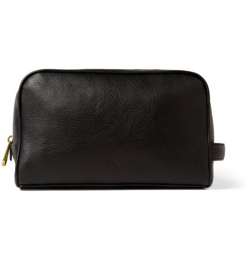 Full-grain Leather Wash Bag by Mulberry in John Wick