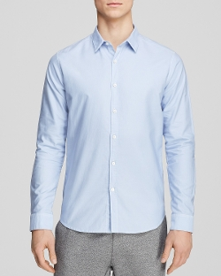 Wickett Zack Woven Button Down Shirt - Slim Fit by Theory in Fast & Furious 6
