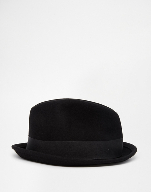 Gain Fedora Hat by Brixton in Rock The Kasbah
