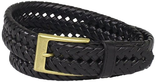 Glazed-Top Braided Belt by Dockers in Hall Pass