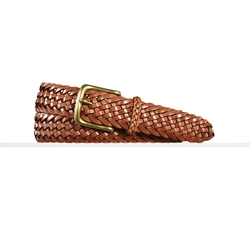 Sportsman Braided Belt by Ralph Lauren in Scream Queens