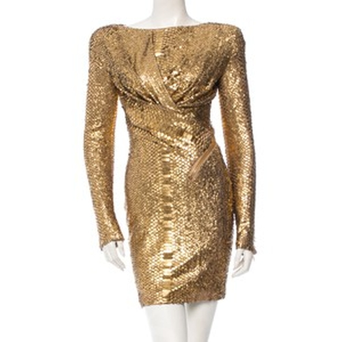 Python Midi Dress by Tom Ford in Empire