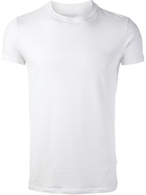 Crew Neck T-Shirt by Dsquared2 in Need for Speed