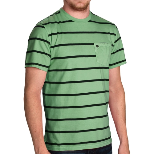 Stripe T-Shirt by Barbour Laundered in Knocked Up
