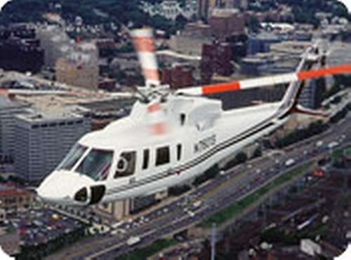 S-76 Helicopter by Sikorsky in London Has Fallen