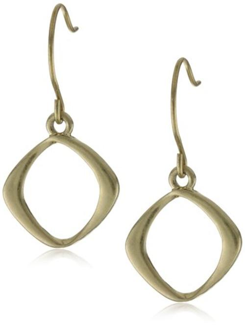 Gold-Tone Drop Earrings by Kenneth Cole New York in We're the Millers