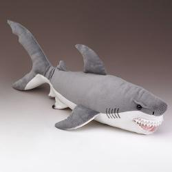 XL Great White Shark Stuffed Animal by Wildlife Artists in Anchorman 2: The Legend Continues