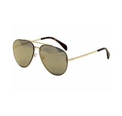 Mirror CL 41391 J5G MV Gold Metal Aviator Sunglasses by Celine in Keeping Up With The Kardashians