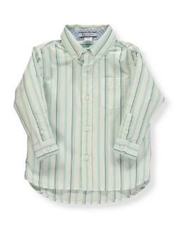 Boy's Striped Button-Down Shirt by Hartstrings in Little Fockers