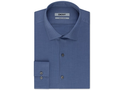 Slim-Fit Solid Dress Shirt by DKNY in Modern Family