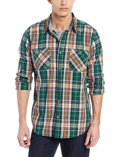Men's Poplin Plaids by Weatherproof Vintage in Miss You Already