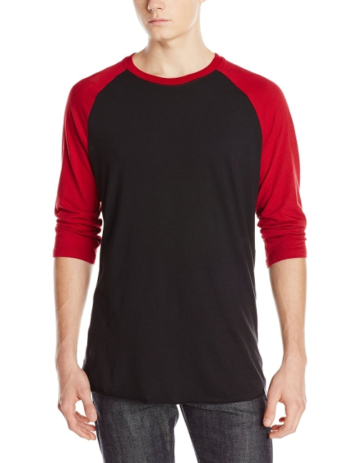 Men's Staple 3/4 Raglan T-Shirt by Hurley in Avengers: Age of Ultron