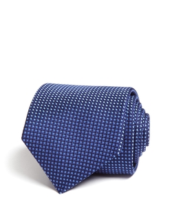 Neat Diamond Print Classic Tie by Eton of Sweden in Suits