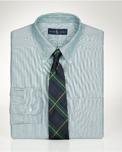 Slim-fit Pocket Oxford Shirt by Ralph Lauren in Blackhat