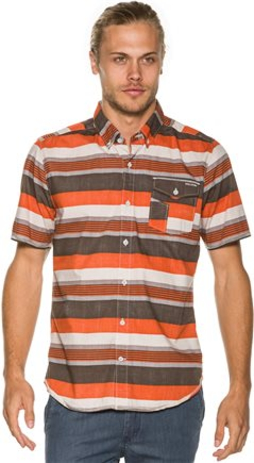 El Rancho Ss Shirt by Volcom in Dope