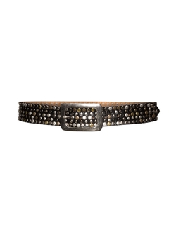 Studded Leather Belt by SPA Accessoires in Empire