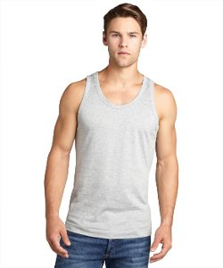 Cotton Solid Tank Top by Dolce & Gabbana in Get Hard