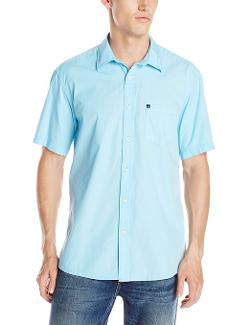 Men's Elliot Short Sleeve Traditional Woven Top by Quiksilver in Lee Daniels' The Butler