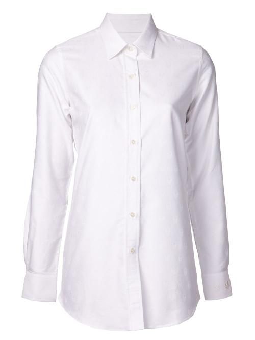 Invisible Skull Oxford Shirt by Lucien Pellat Finet in Little Fockers