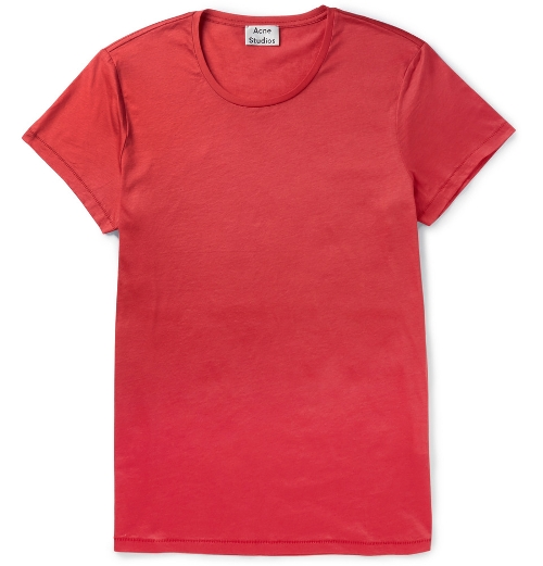 Cotton-Jersey T-Shirt by Acne Studios in Ricki and the Flash