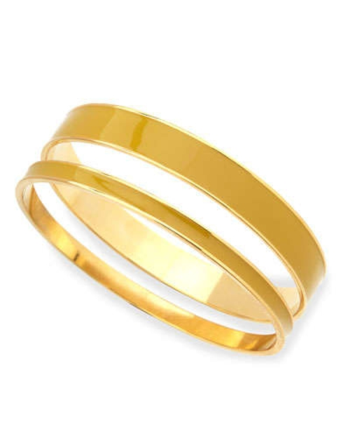 Two-Piece Channel Bangle Set by Tuleste in The Hangover