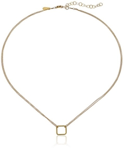Tiny Square Necklace by Adina Reyter in Pretty Little Liars