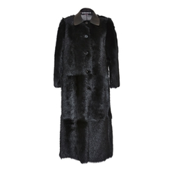 Lamb Shearling Coat by Rochas in Keeping Up With The Kardashians