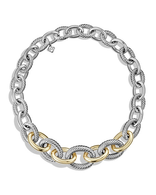 Oval Link Necklace by David Yurman  in Mariah's World - Season 1 Preview