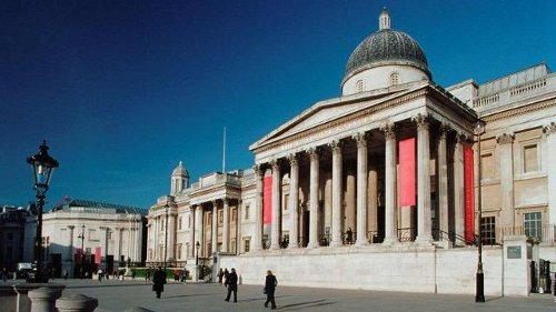 The National Gallery London, United Kingdom in Night at the Museum: Secret of the Tomb
