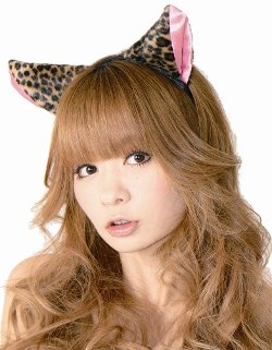 Fluffy Cat Ear Headband by Clearstone in If I Stay