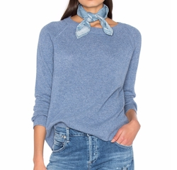 Essential Crew Neck Sweater by White + Warren in Fuller House