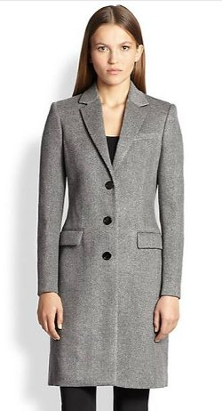Wool & Cashmere Sidlesham Coat by Burberry London in The Age of Adaline