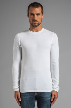 Thermal Crew Neck Sweater by Vince in Furious 7