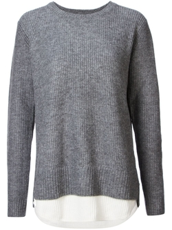 Two-Tone Ribbed Sweater by Unif in Jessica Jones