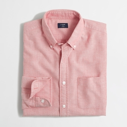 Factory Slim Oxford Shirt by J. Crew in Master of None