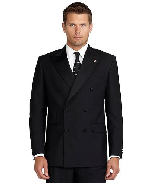 Double-Breasted Tuxedo Jacket by Brooks Brothers in The Great Gatsby