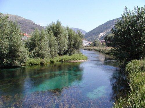 Fiume Aterno-Pescara Abruzzo, Italy in The American