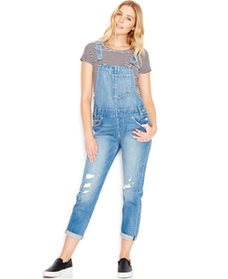 Distressed Denim Overalls by Levi's  in Animal Kingdom