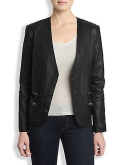 Leather Blazer by Lucky Brand in The Flash