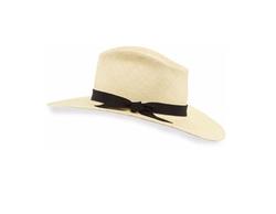 The Stella Straw Panama Sun Hat by Gladys Tamez in Scream Queens