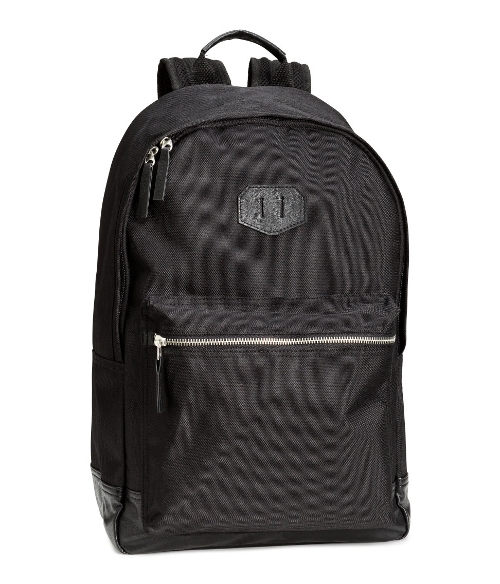 Men's Backpack by H&M in Me and Earl and the Dying Girl