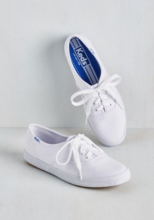 Back To The Basics Sneaker by Keds in Grease