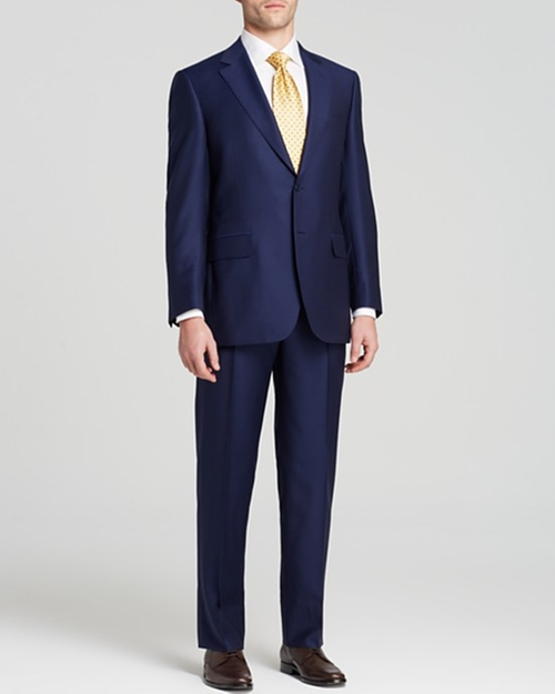 Narrow Shadow Stripe Suit by Canali in Suits - Season 5 Episode 5
