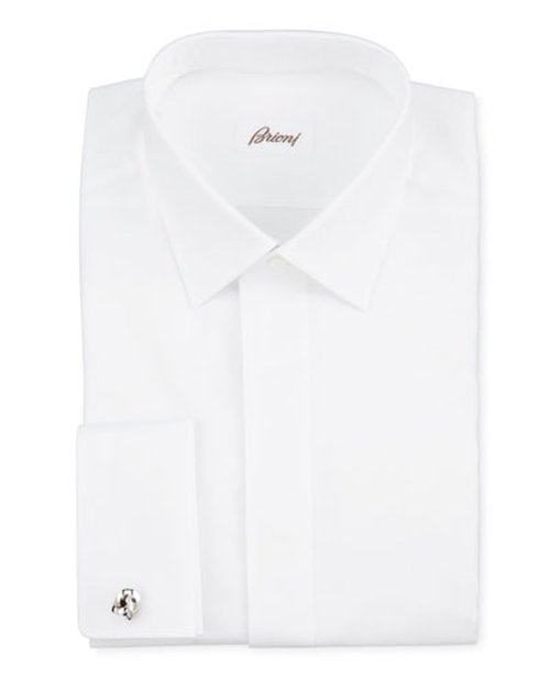 Oxford French-Cuff Dress Shirt by Brioni	 in Suits - Season 5 Episode 1