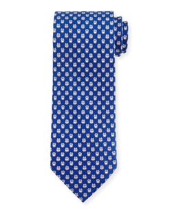 Owl-Print Woven Tie by Salvatore Ferragamo	 in Steve Jobs