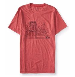 Brooklyn Bridge Graphic T Shirt by Aeropostale in Shadowhunters