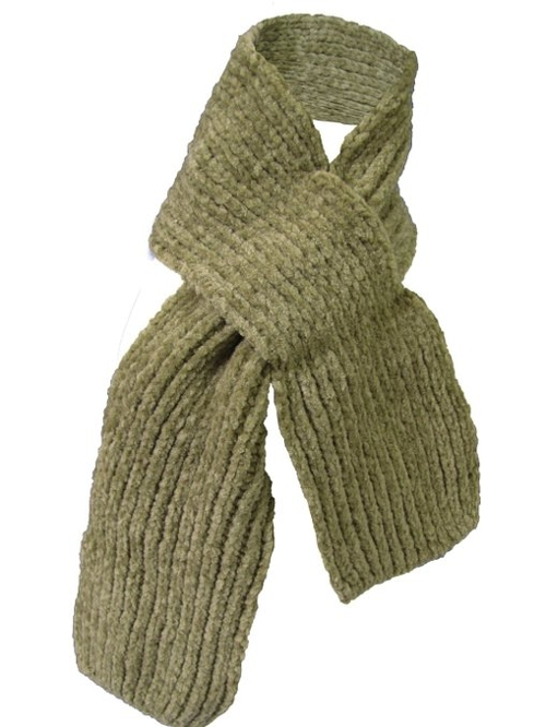 Children's Plain Winter Scarf by Couver in Pan
