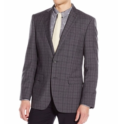 Druce Modern Fit Blazer by DKNY in Rosewood