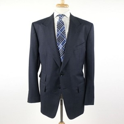 Peak Lapel Two Button Suit by Tom Ford in Suits