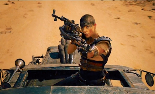 Custom Made Imperator Furiosa Costume by Jenny Beavan (Costume Designer) in Mad Max: Fury Road